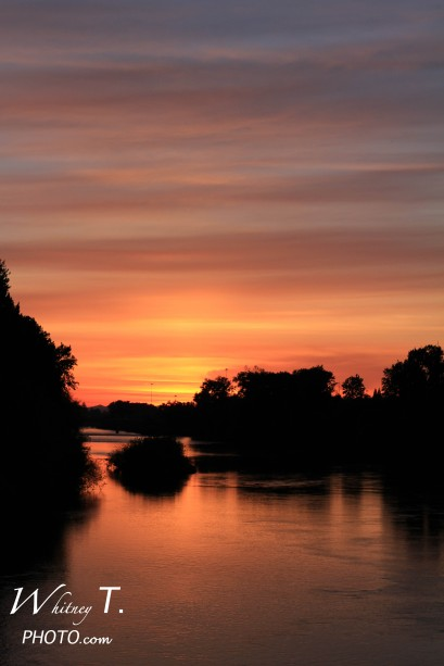 Sunset in Eugene