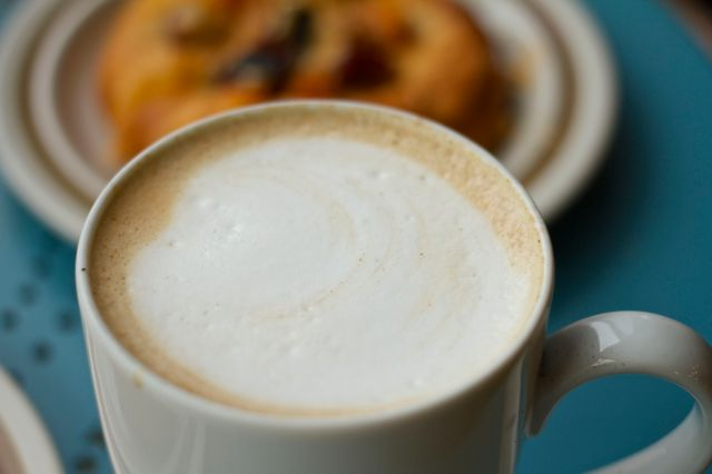 Anything more relaxing than a frothy chai?